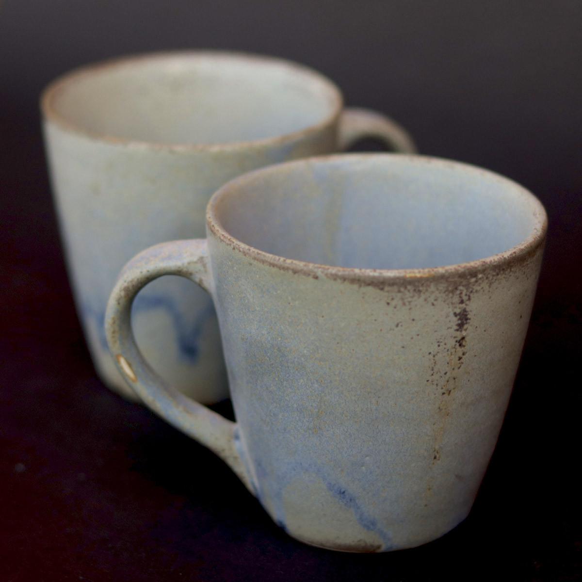 Ceramic Coffee Mugs Set of 2