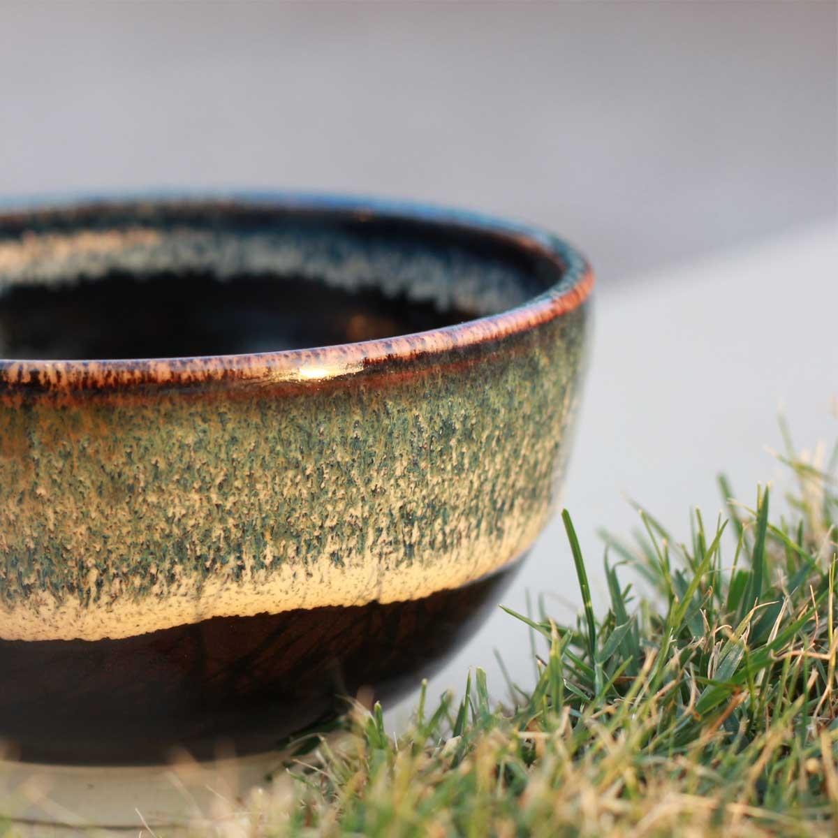 Dripping Caramel Bowl