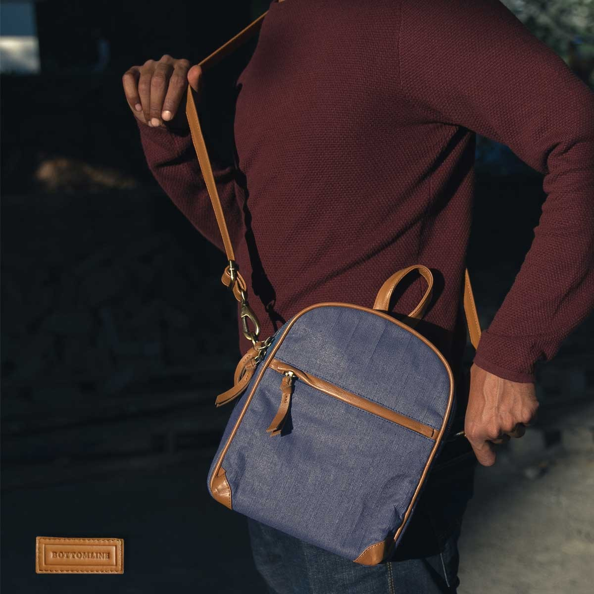 Juco Backpack Blue