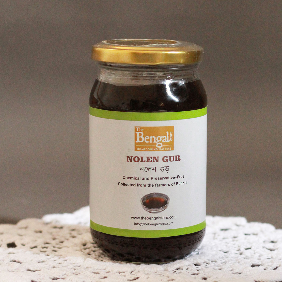 Jhola Nolen Gur / Liquid Jaggery (450g) (Available from December 2021)