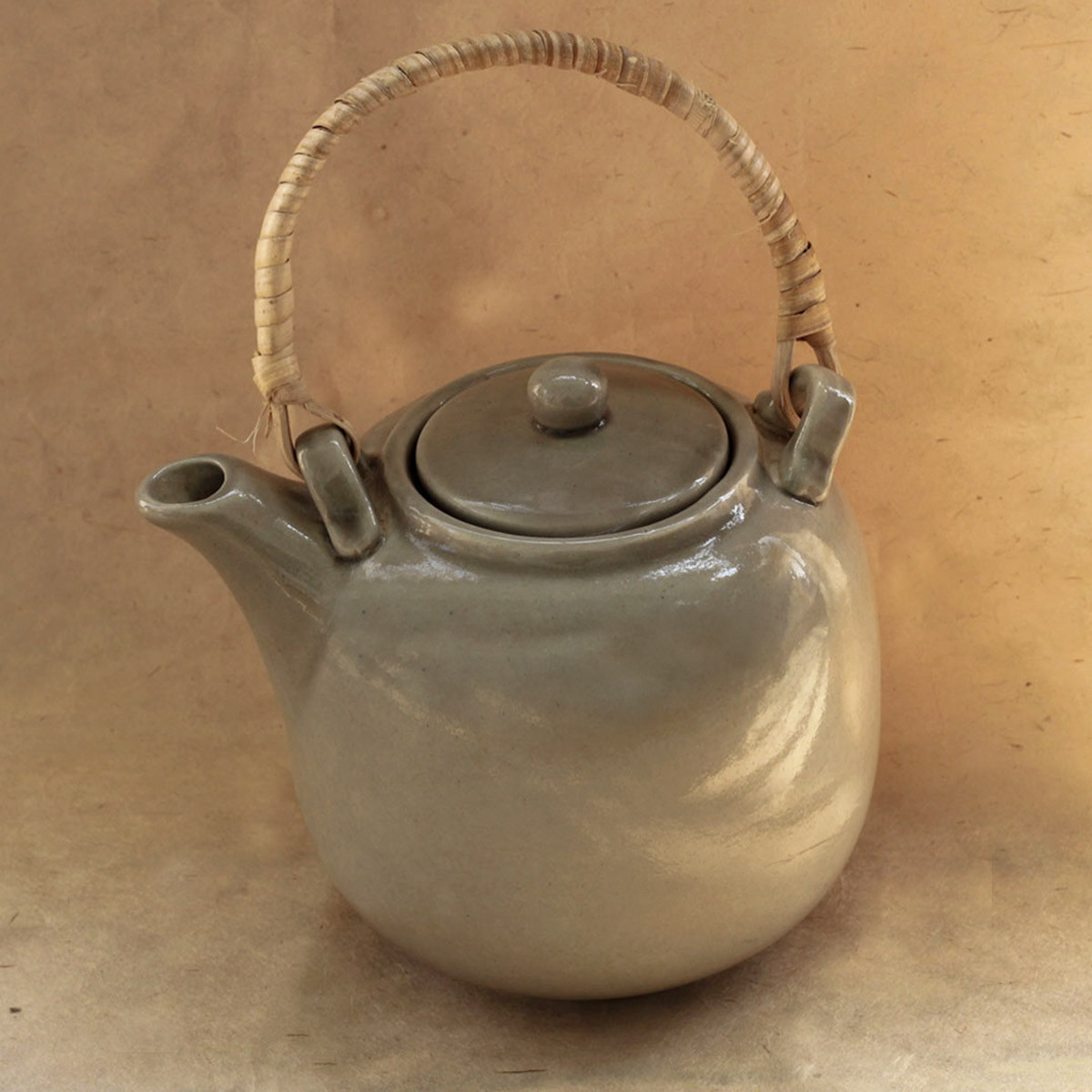 Ceramic Tea Pot (Grey)