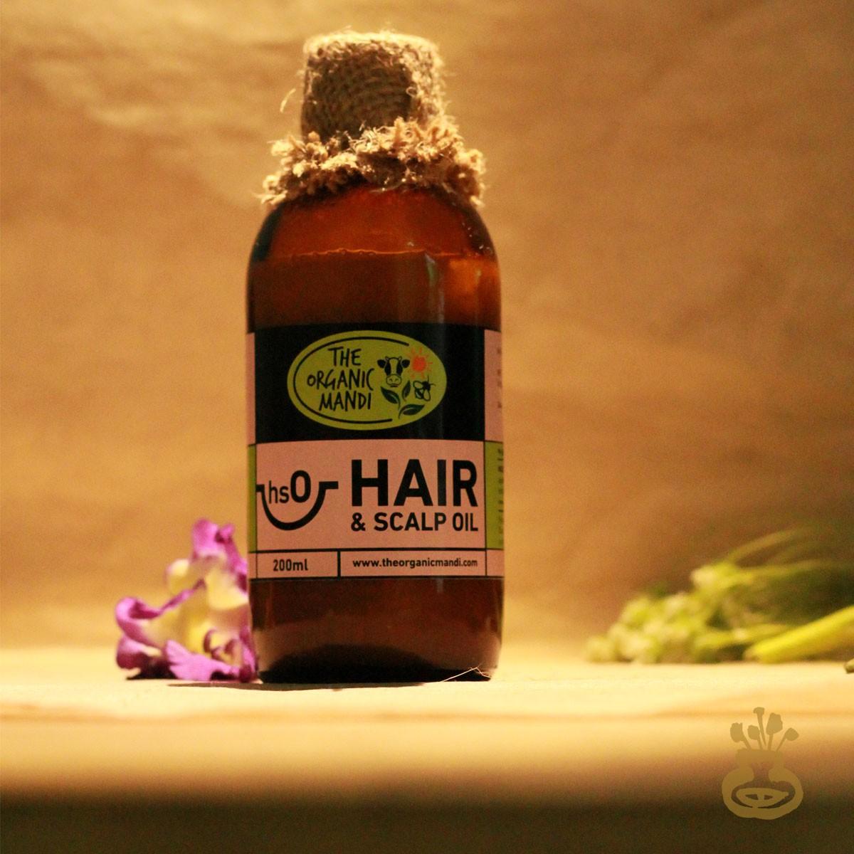 Hair and Scalp Oil (200ml)