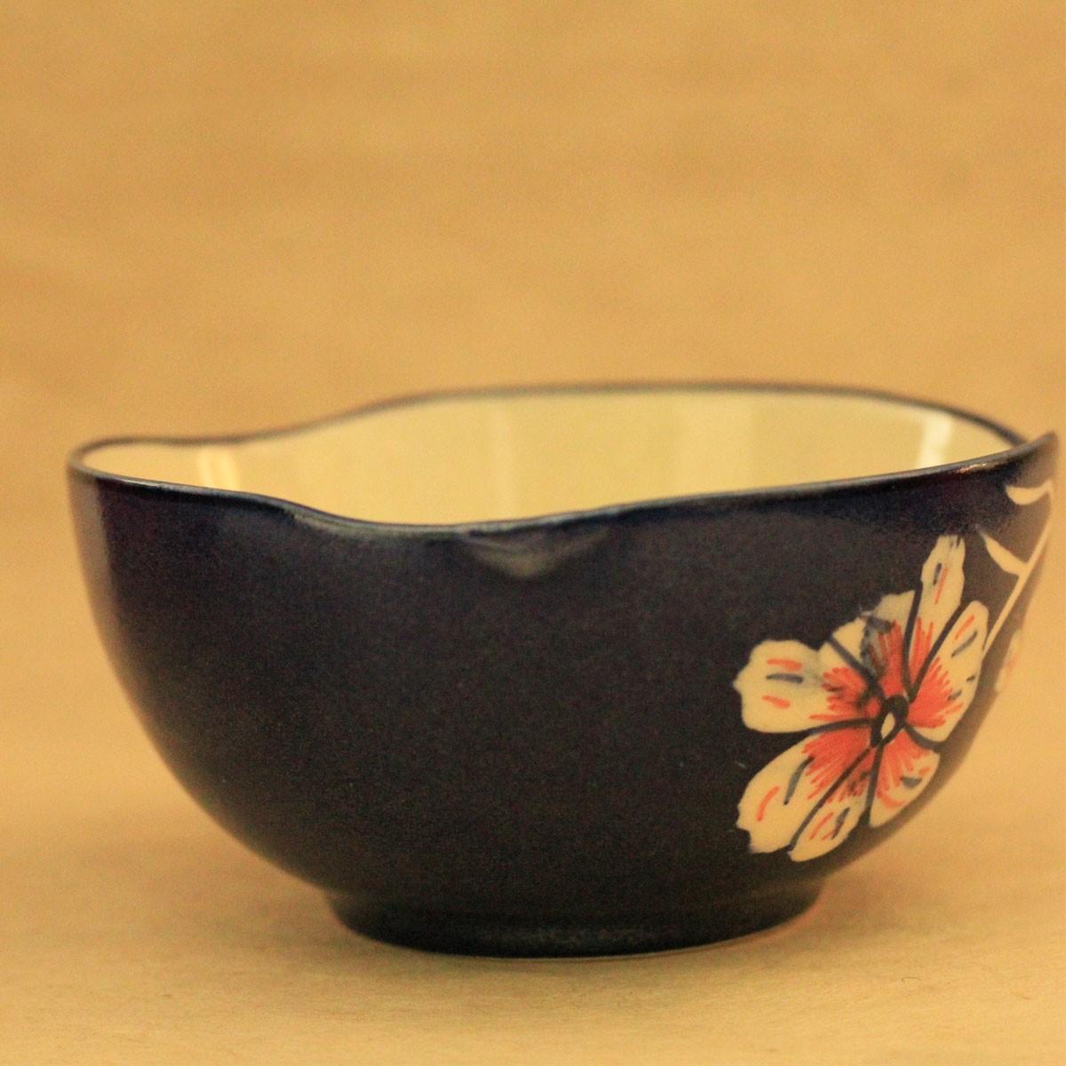 Ceramic Floral Bowl