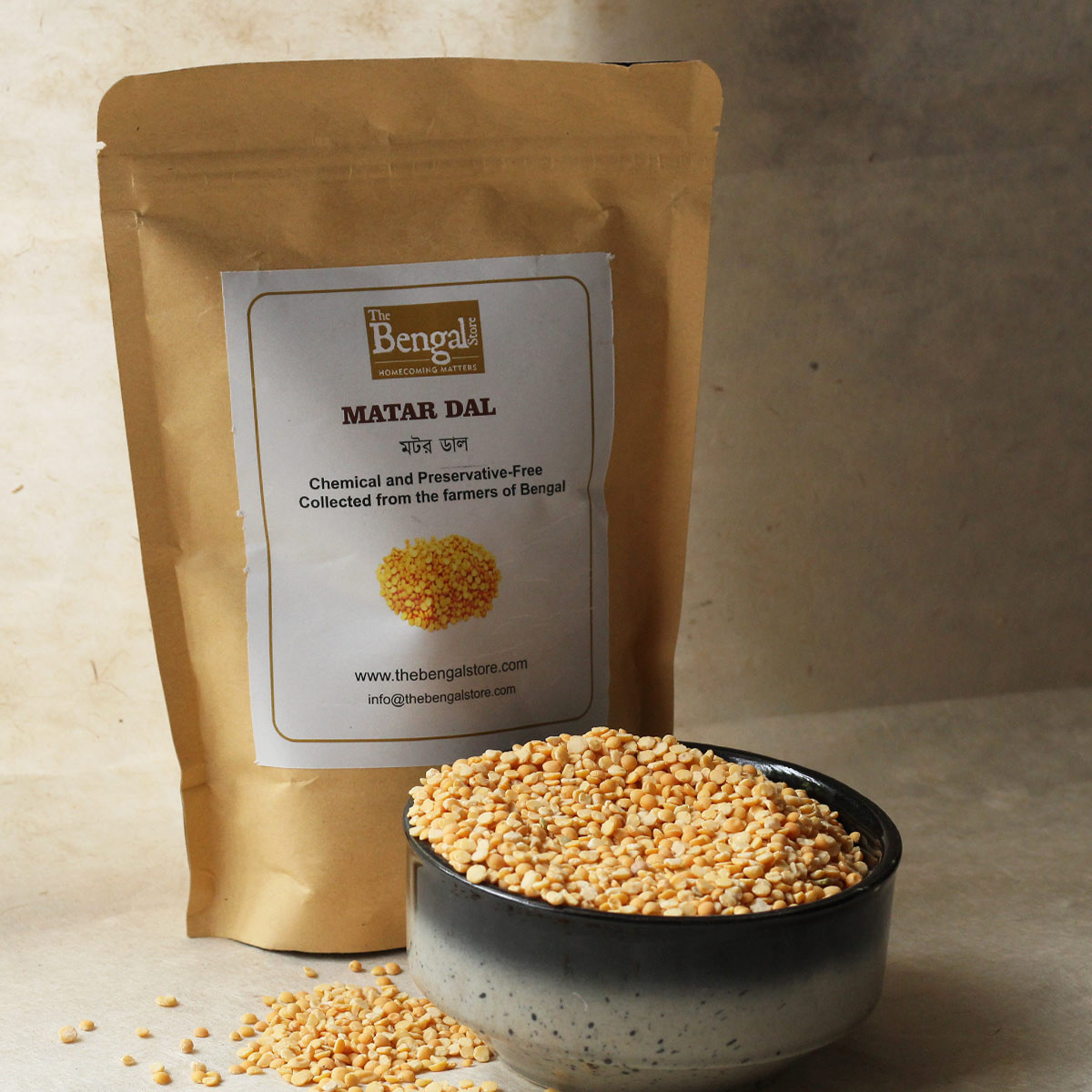 Matar Dal (500g)- Chemical and Preservative-Free
