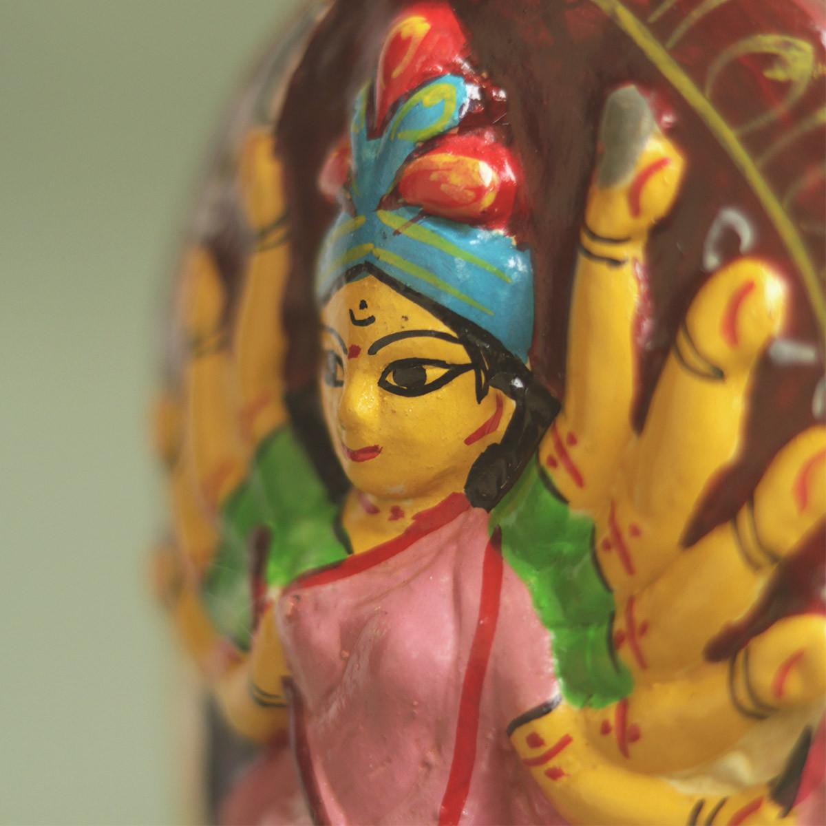 Mojilpur Durga Idol