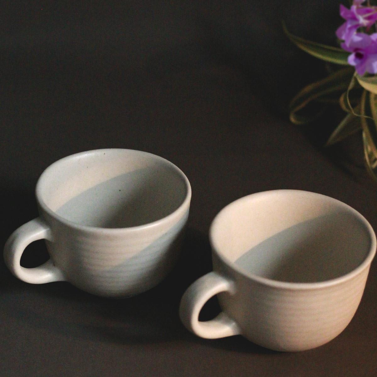 Ceramic tea cup (Set of 2)